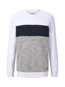 structured crewneck