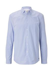 soft handfeel poplin shirt - 22334/bright blue sma