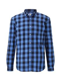 check shirt - 22330/navy blue vichy check