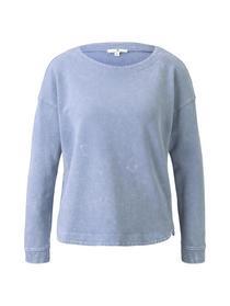 Sweatshirt acid wash