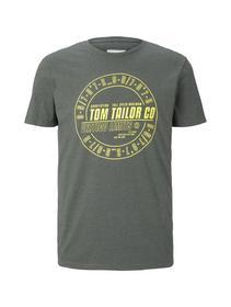 print t-shirt with overdye