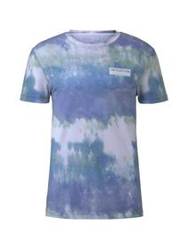 batik T-shirt - 22351/multicolor stripy batik p