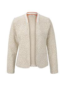 blazer jacket jacquard