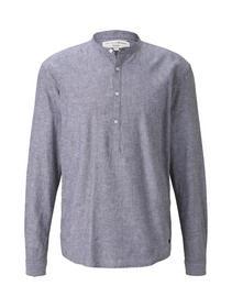 cotton linen mix tunic