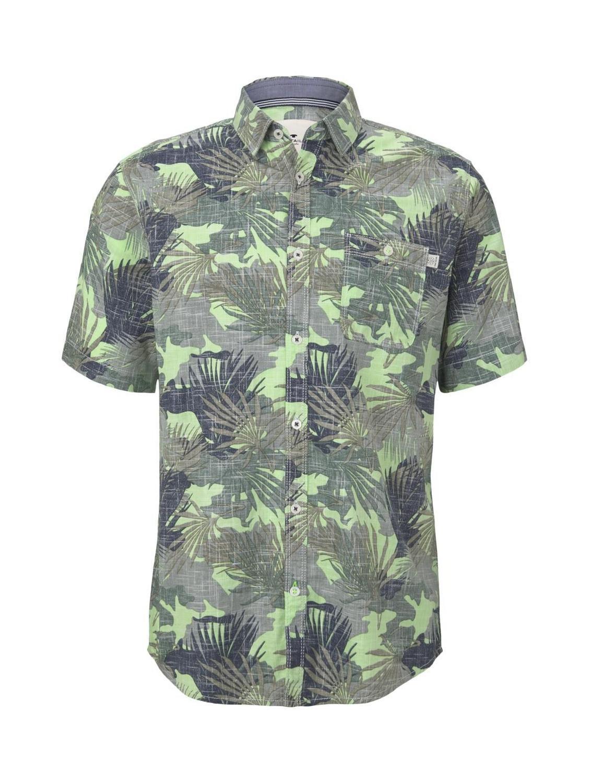 ray slub print shirt