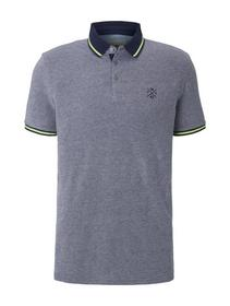 summer two-tone polo