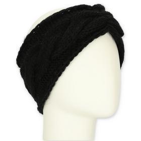 Stirnband uni Zopf