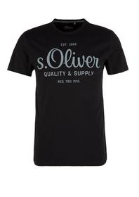 T-Shirt kurzarm - 9855/black