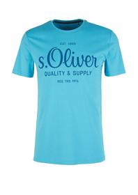 T-Shirt kurzarm - 6242/turquoise