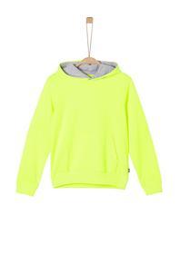 Sweatshirt langarm - 0071/Neon Yello