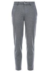Slim: Jogg Suit-Hose mit Piqué-Struktur