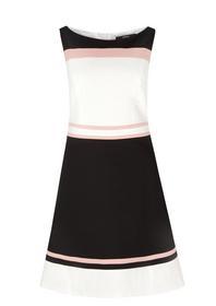Kleid kurz - 99G3/grey/black