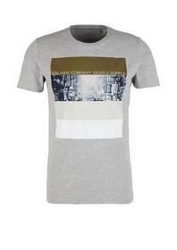 T-Shirt kurzarm - 9400/grey melan