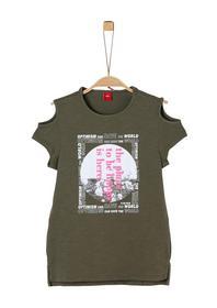 T-Shirt kurzarm - 7936/khaki gree