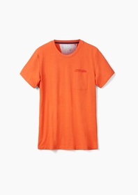 T-Shirt kurzarm - 25W0/pop orange