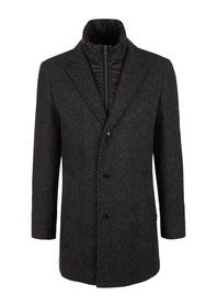 Mantel langarm - 98P1/black twee