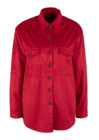 Bluse langarm - 3842/dark red