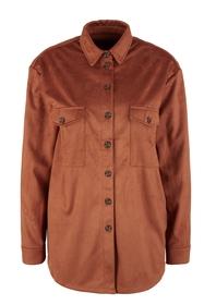 Bluse langarm - 8757/brown