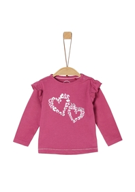 T-Shirt langarm - 4594/pink