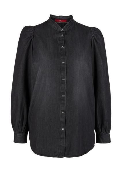 Bluse langarm - 97Y5/grey non s