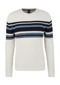 Pullover langarm - 9222/light grey