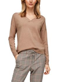 Pullover langarm - 83W0/beige mela
