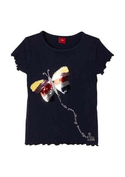 T-Shirt kurzarm - 5952/dark blue