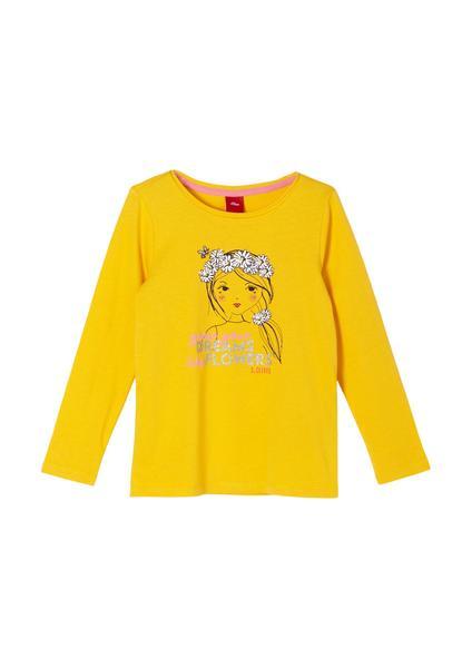 T-Shirt langarm - 1392/yellow