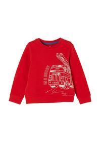 Sweatshirt langarm - 3118/red