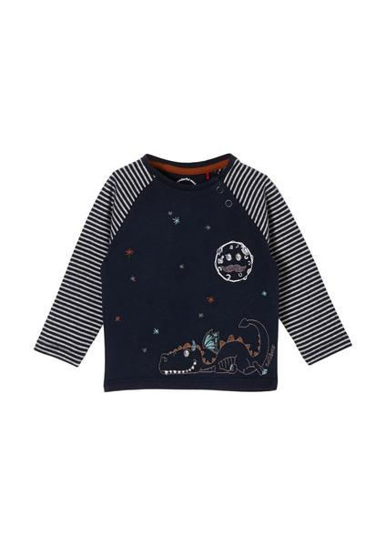 T-Shirt langarm - 5952/Blue