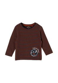 T-Shirt langarm - 28G1/Brown
