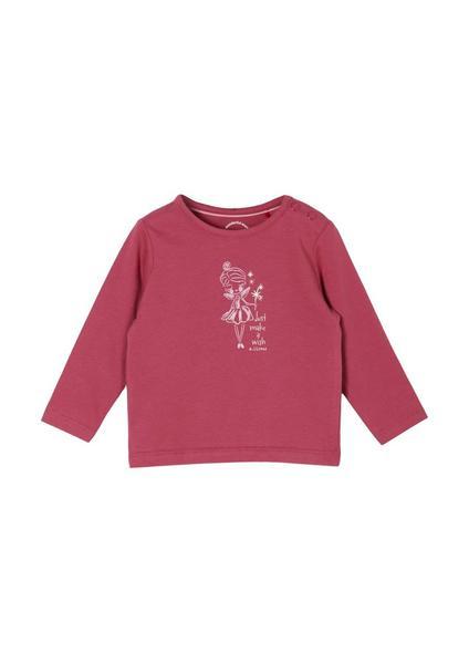 T-Shirt langarm - 4594/Purple