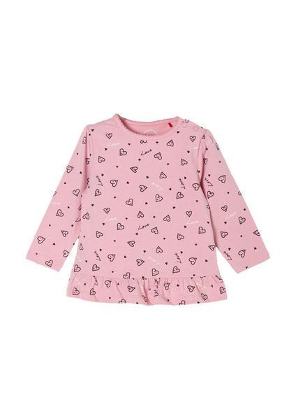 T-Shirt langarm - 43B5/rose