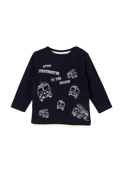 T-Shirt langarm - 5952/dark blue
