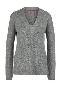 Pullover langarm - 97X0/grey knit