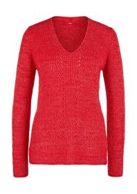Pullover langarm - 31X0/True Red K