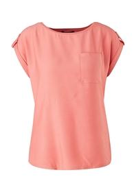 Materialmix-Shirt