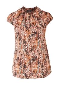 Bluse kurzarm - 99A4/woven foil