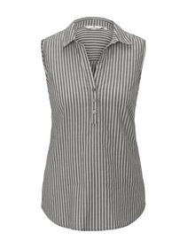 blouse top striped - 22903/black small stripes