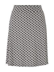skirt jersey printed - 22900/black circle design