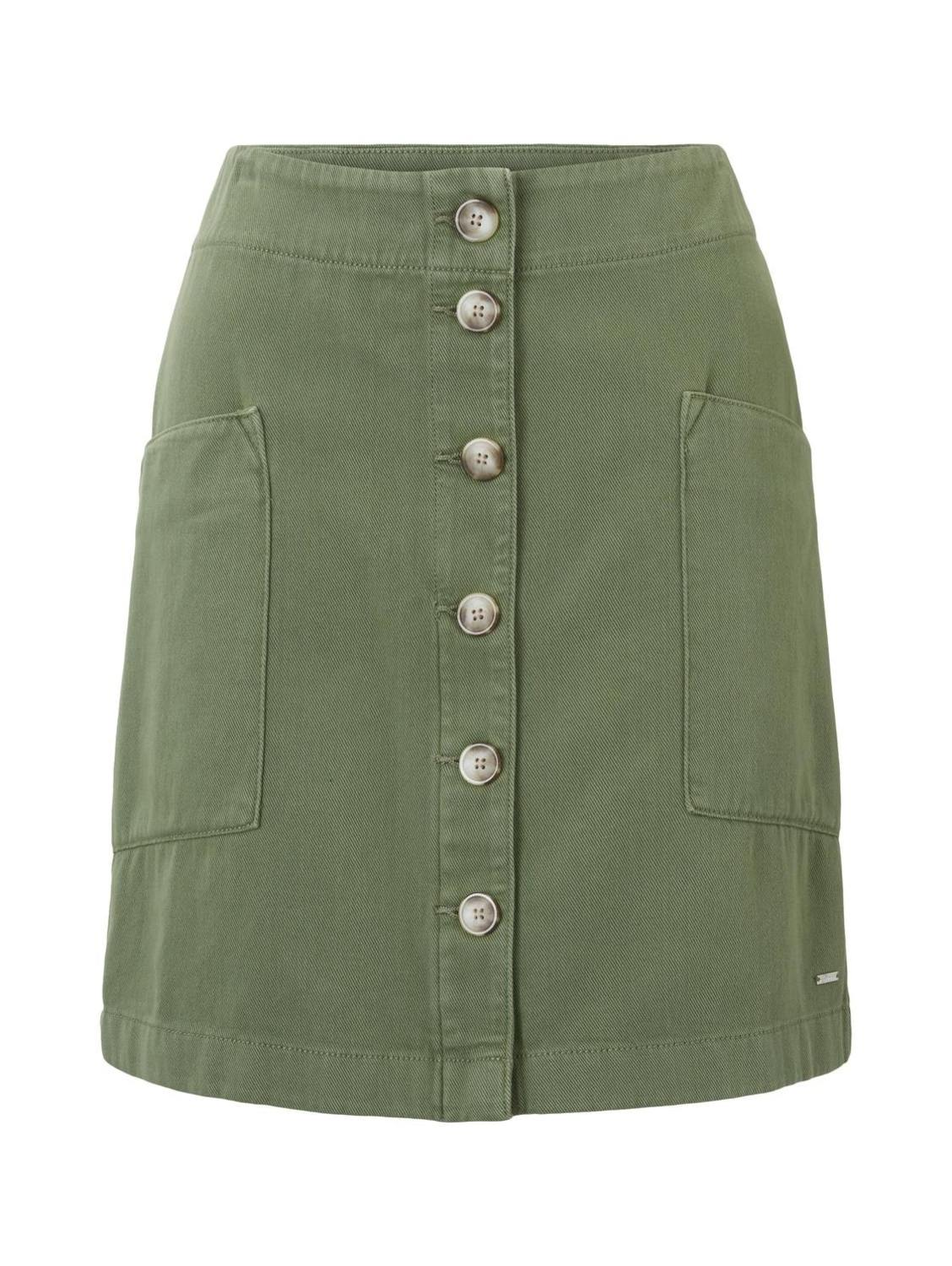 utility skirt with pockets