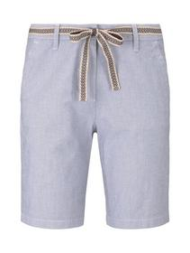 Tom Tailor Chino Bermuda - 12320/Thin Stripe Pants