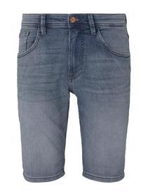 regular sweat denim shorts
