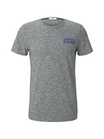 t-shirt multicolor - 23432/grey coloured melange