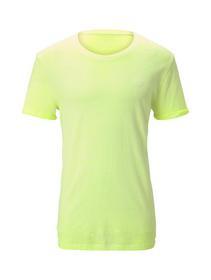 washed slub T-shirt - 20361/neon green