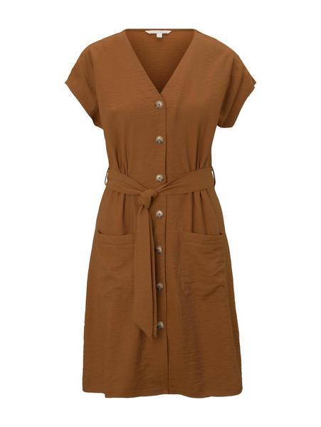 mini dress - 22110/mango brown
