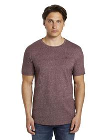 structured T-shirt with print - 14194/Decadent Bor
