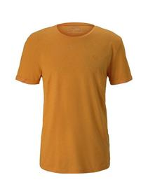 structured T-shirt with print