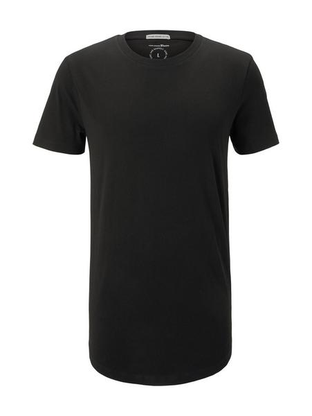 T-shirt with woven badge - 29999/Black