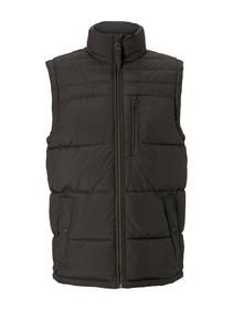 padded vest, Shadow Olive